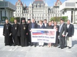 Delegation in Support of Russian-American History Month Visits Albany