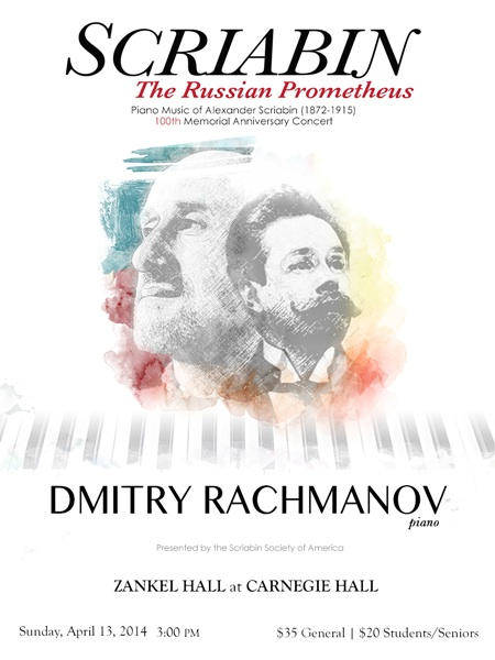 Alexander Scriabin, the Russian Prometheus